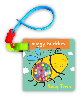 Book cover for Rattle Buggy Buddies: Noisy Town